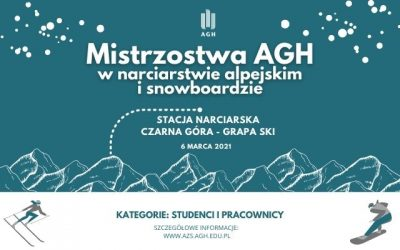 Mistrzostwa AGH w narciarstwie alpejskim i snowboardzie odwołane