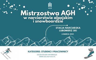 Mistrzostwa AGH w narciarstwie alpejskim i snowboardzie